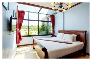 Accommodation : Buddy House 1 (Chateau De Khaoyai)