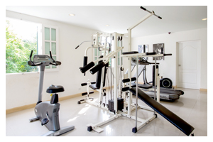 Fitness Center : Chateau De Khaoyai